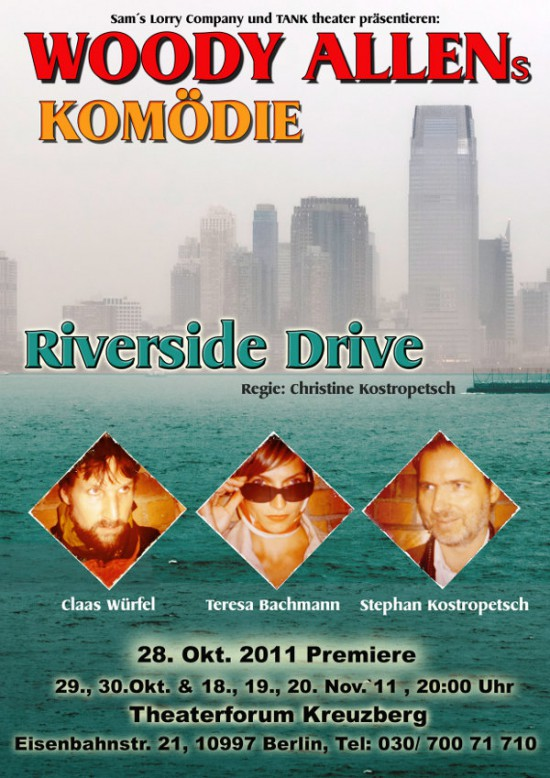 Riverside Drive Poster
